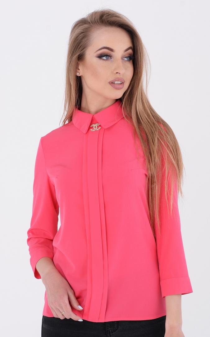 Модна коротка блуза (рожева)