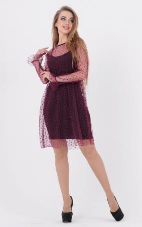 Delicate pea dress