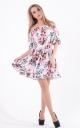 Літня сукня принт
