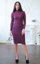 Angora dress-golf Lurex