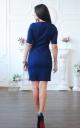 Деловое джинсовое платье