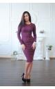 Повсякденна сукня люрекс