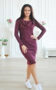 Warm dress-lurex