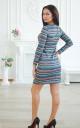 Повседневное платье в полоску