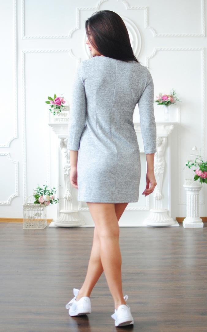 Straight Angora Dress