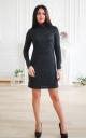 Ангоровое платье люрекс