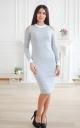 Приталена сукня з вирізами