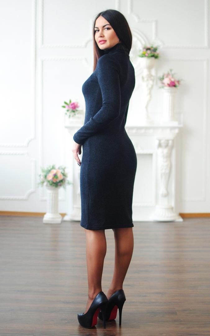Angora golf dress