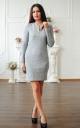 Сукня ангора з блискавкою