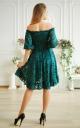 Гіпюрова сукня асиметрія