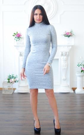 Ангоровое платье-гольф