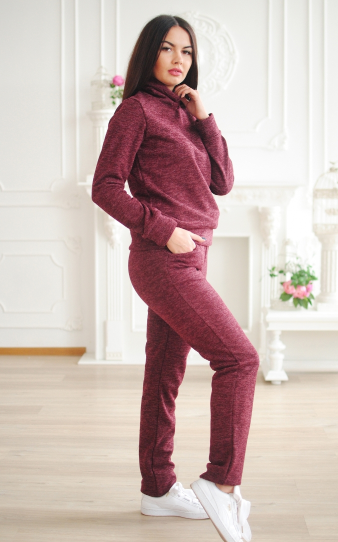 Warm fleece suit