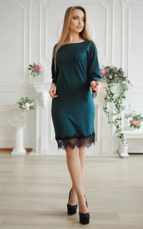 Stylish dress with lace
