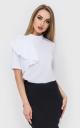 Модная блузка волан