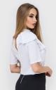Модна блузка волан