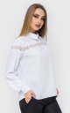 Flared Office Blouse