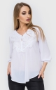 Loose blouse asymmetry