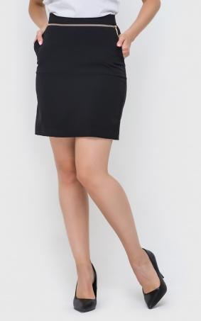 Приталенная юбка-мини