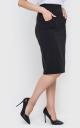 Pleated skirt-midi