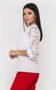 Роскошная кружевная блузка