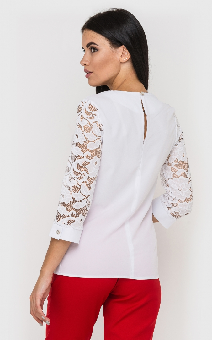 Luxurious lace blouse