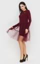 Модна сукня з фатином