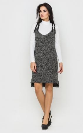 Платье двойка (серый)