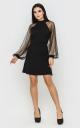 Вечірня коротка сукня (чорна)