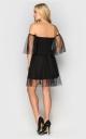 Вечірня сукня в стилі ретро (чорна)