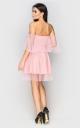 Вечернее платье в стиле ретро (розовое)