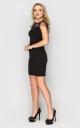 Вечірня сукня міні (чорна)