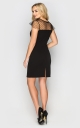 Evening dress mini (black)