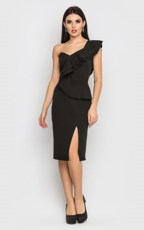 Evening dress (black)