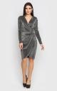 Розкішна коротка сукня-міні (чорна)