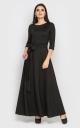 Вечірня сукня в підлогу (чорна)