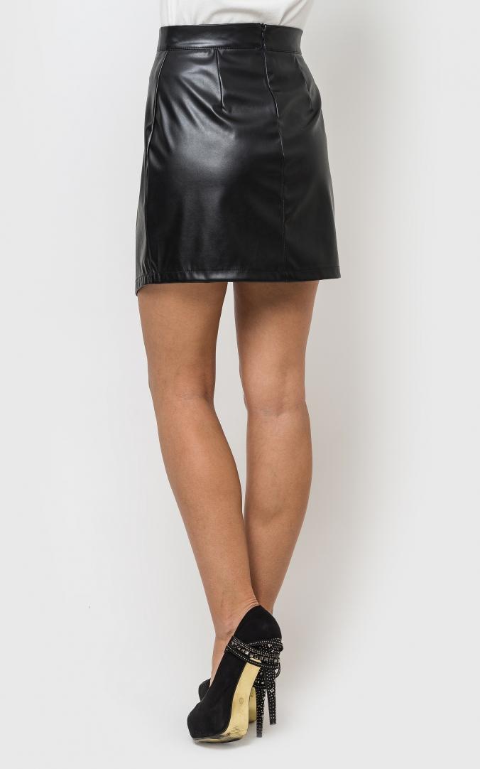 Original leather skirt