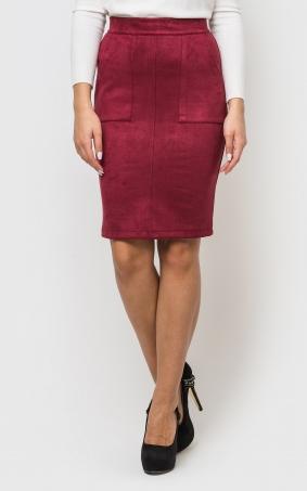 Оригинальная юбка-миди