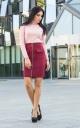 Original suede skirt