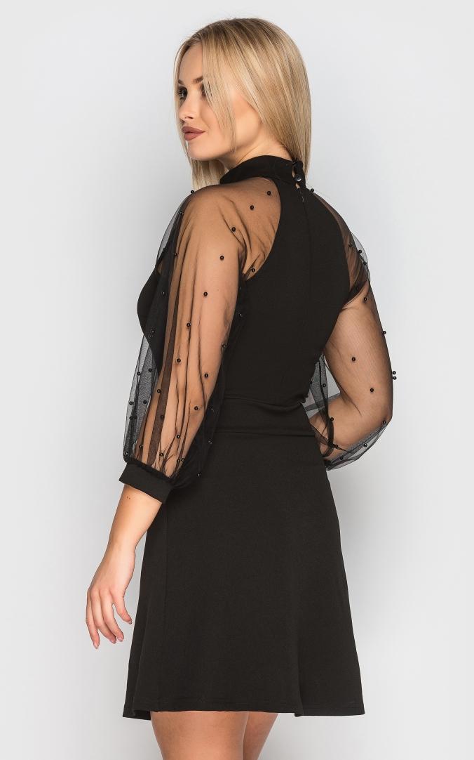 Вечірня сукня (чорна)