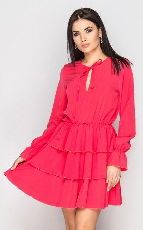 Stylish dress (coral)
