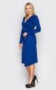 Slinky evening dress (blue)