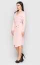 Slinky evening dress (pink)
