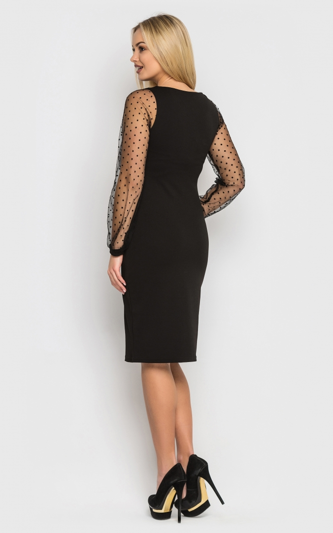 Evening dress (black)