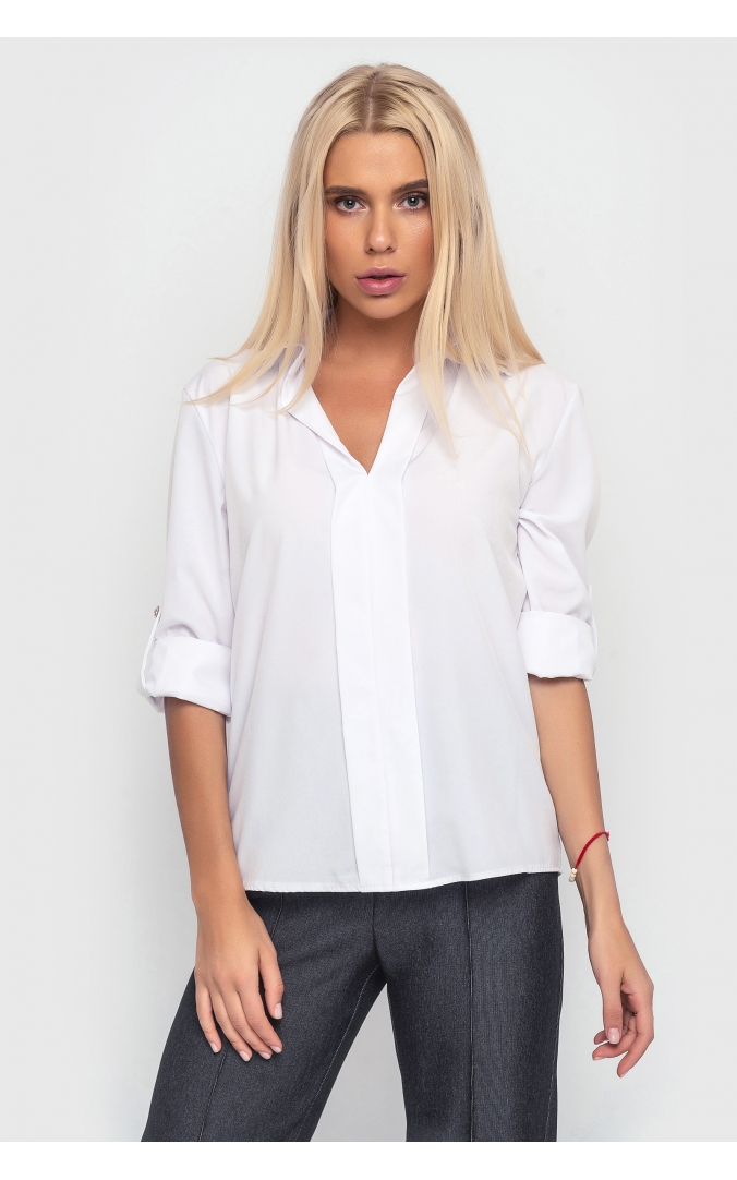 Loose summer shirt (white)