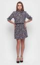Леопардовое платье-мини