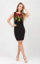 Decorated flowers dress
