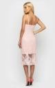 Витончена літня сукня (персикова)