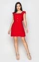 Light casual dress (red)