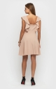 Light casual dress (beige)