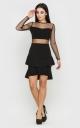 Оригинальное платье (черное)